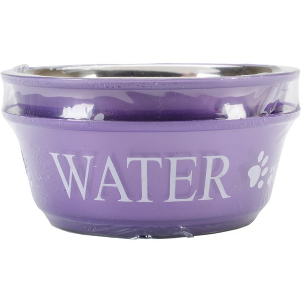 Food & Water Set Medium 1qt-Lilac