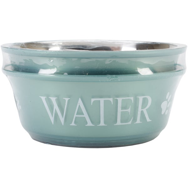 Food & Water Set Medium 1qt-Teal