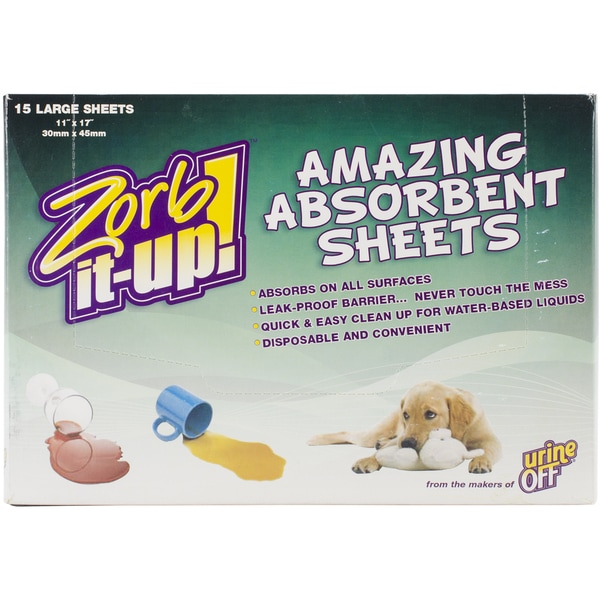 "Zorb-It-Up! Sheets Dispenser Box 11""X17"" 15 Sheets"