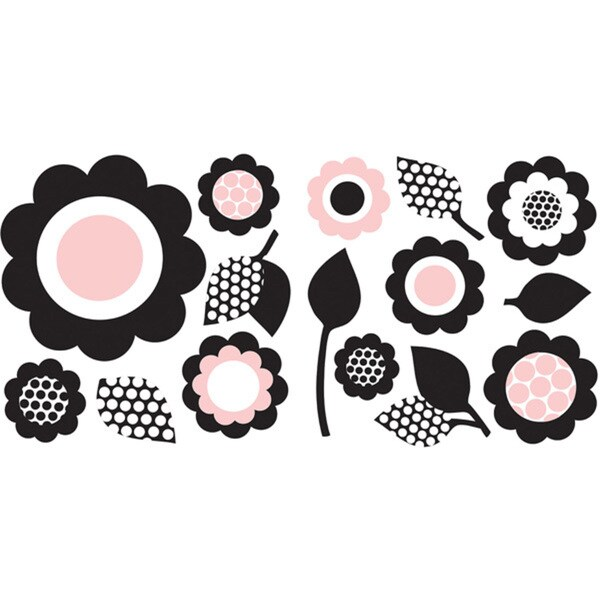 Pink Floral Wall Art Wall Art Kit