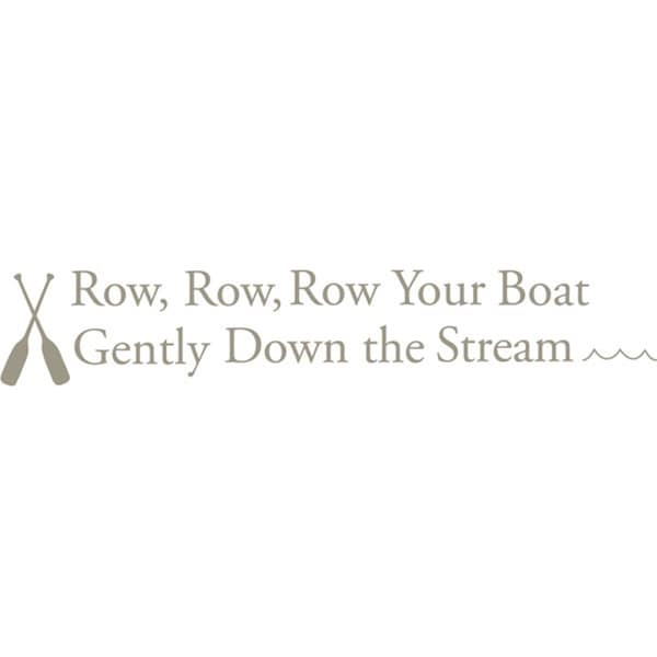 Row Your Boat Nursery Rhymes Decals