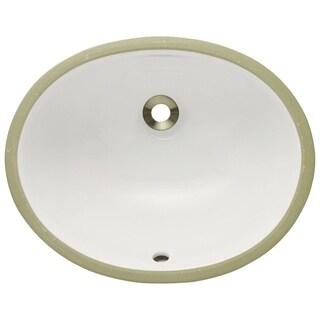 MR Direct UPS-B Bisque Porcelain Bathroom Sink