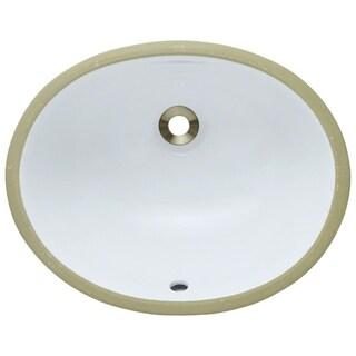 MR Direct UPS-W White Porcelain Bathroom Sink