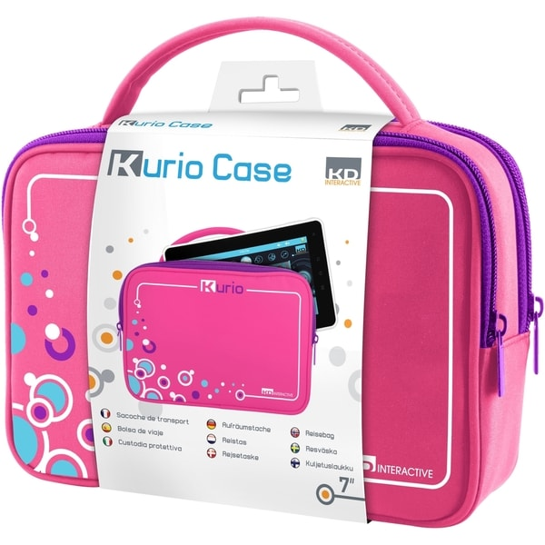 "Kurio 7"" Travel Bag - Pink"
