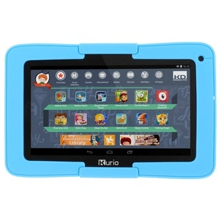 "Kurio Xtreme 7"" Android Tablet with Blue Bumper"