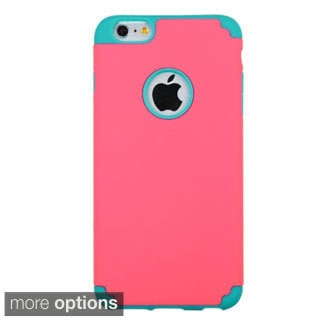 INSTEN Rubberized Color Fusion Protector Cover For Apple iPhone 6 Plus