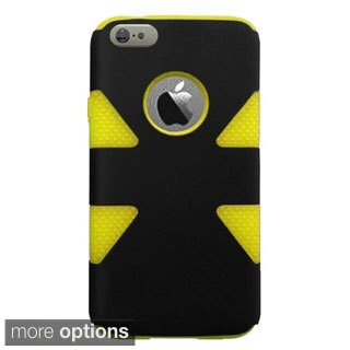 INSTEN Dynamic Colorful Plain Design Hybrid Cover Case For Apple iPhone 6 Plus