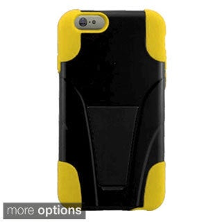 INSTEN Black T-Stand Phone Cover Case For Apple iPhone 6 Plus