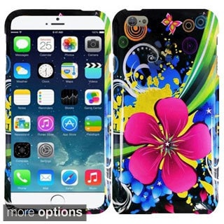 INSTEN Flower Pattern Design Phone Cover Case For Apple iPhone 6 Plus