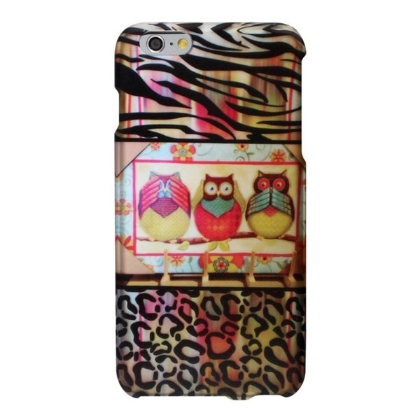 INSTEN Designed Pattern Snap-On Cover Protector Case For Apple iPhone 6 Plus