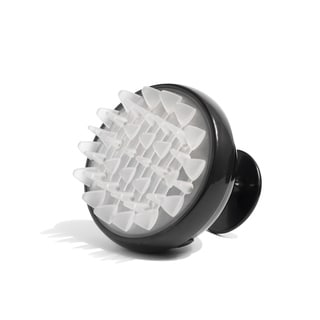 Scalp Massaging Black Shampoo Brush