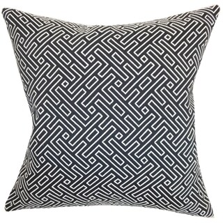 Ocussi Geometric Down Filled 18-inch Throw Pillow