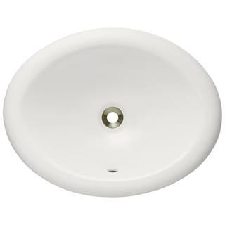 MR Direct Bisque Overmount Porcelain Vanity Bowl