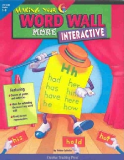Making Your Word Wall More Interactive (Paperback)