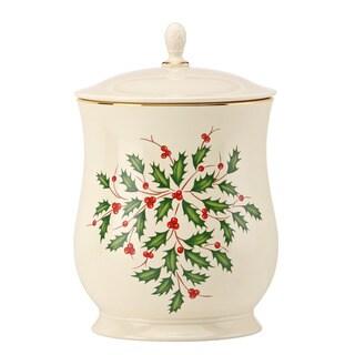 Lenox Holiday Cookie Jar