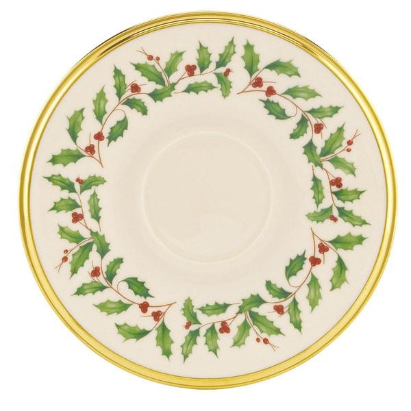 Lenox Holiday Tea Saucer