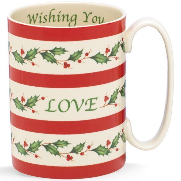 Lenox Holiday Wishing You Love Mug