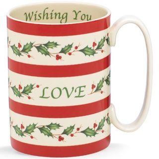 Lenox Holiday Wishing You Love Mug