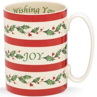 Lenox Holiday Wishing You Joy Mug