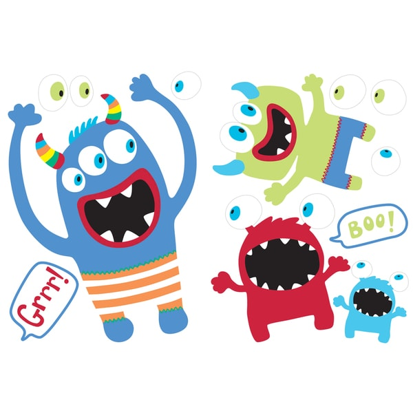 Little Monsters - Kids Wall Decals and Stickers