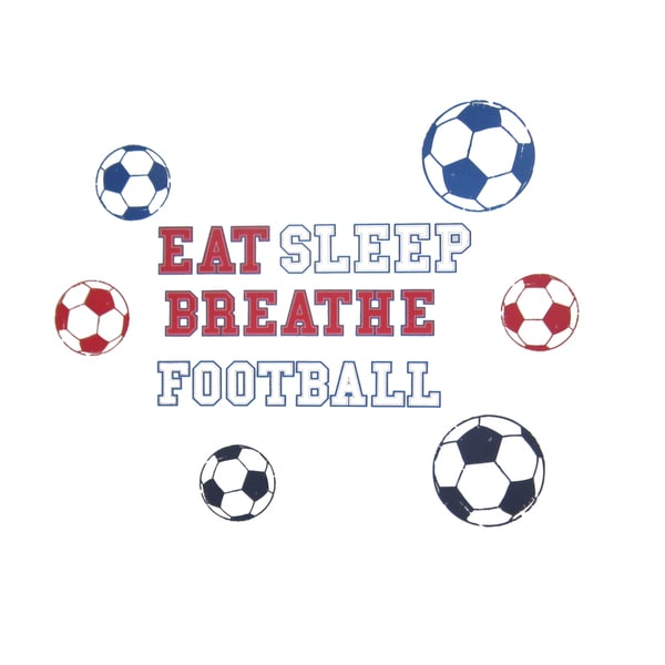 Football Words - Sports Wall Decals