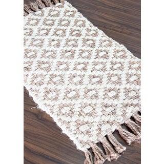 Handmade Jute Diamond Area Rug (2 x 3)