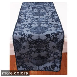 Evelyn Damask Table Runner