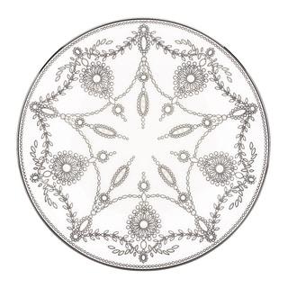 Lenox Marchesa Empire Pearl Accent Plate