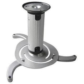 Arrowmounts Silver Full Rotation Tilting Projector Ceiling Mount