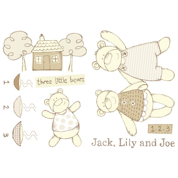 Jack Lily And Joe - Jack Lily and Joe Wall Decals