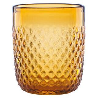 Lenox Kathy Ireland Home Amber Coronado 4-piece Double Old Fashion Glass Set