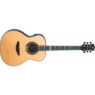 Luna Art Nouveau inspired full GA Spruce Acoustic/Electric Guitar