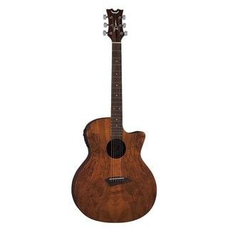 Dean AXS Spalt CAW A/E - Gloss Natural Acoustic/Electric Guitar