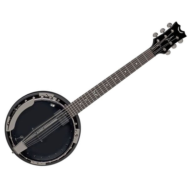 Dean Backwoods 6 String Banjo with Pickup - Black Chrome 14191912