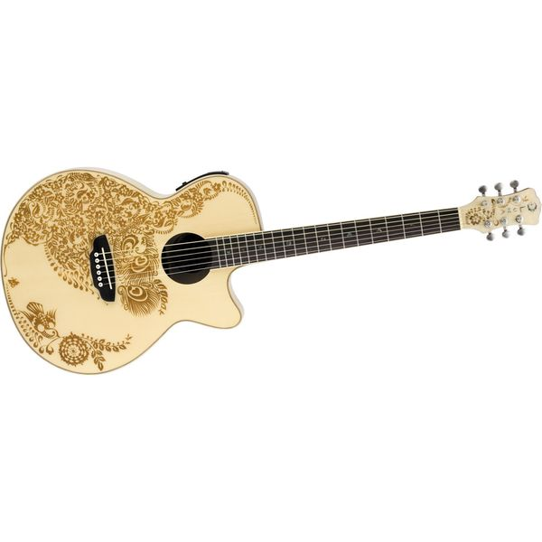 Luna Henna Oasis Acoustic/Electric- Cedar