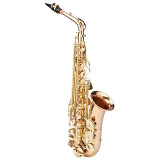 Ravel Paris RAS302RB Professional Eb Rose Brass Alto Saxophone