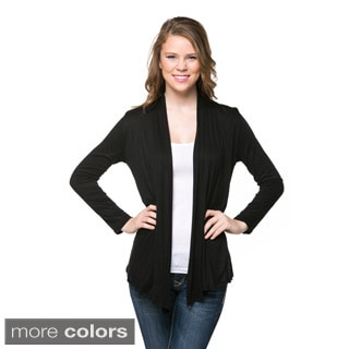 Women's Open Drape Cardigan Sweater