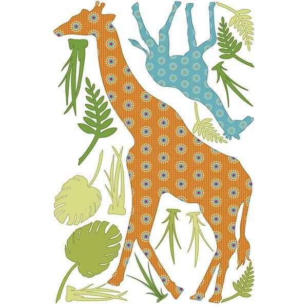ZooWallogy - Riley the Giraffe Decal