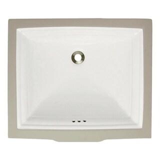 MR Direct Bisque Undermount Rectangular Porcelain Sink