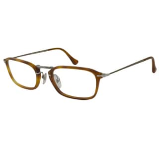 Persol Men's PO3044V Rectangular Optical Frames