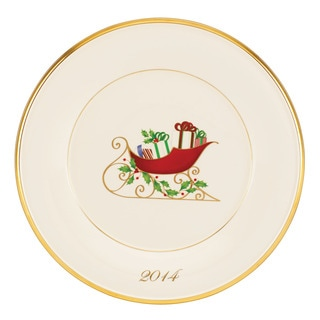 Lenox 2014 Holiday Accent Plate