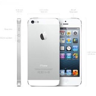Apple iPhone 5S 32GB Silver Factory Unlocked