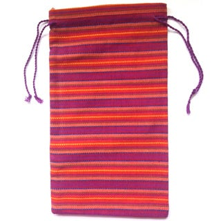 Reusable Striped Gift or Coffee Bag (Guatemala)
