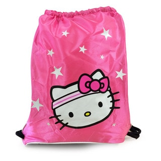 Hello Kitty Hot Pink Sports Sackpack