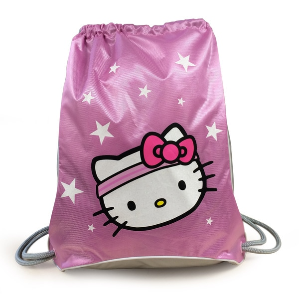Hello Kitty Sports Pink Sackpack