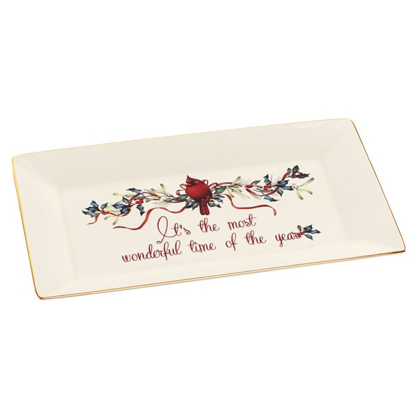 Lenox Winter Greetings Platter