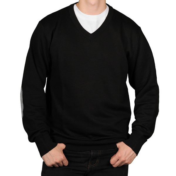 Ecko Unlimited Men's Solid V-neck Sweater
