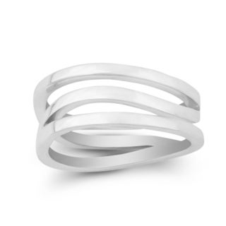 La Preciosa Sterling Silver Twisted Ring