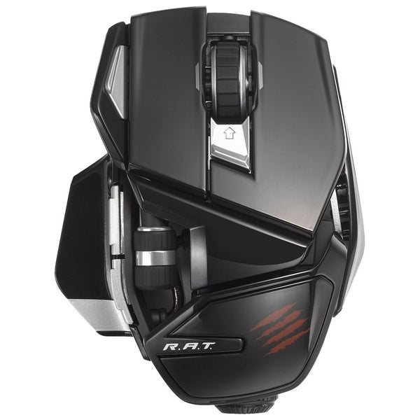 Mad Catz Office R.A.T. Wireless Mouse for PC, Mac, and Android