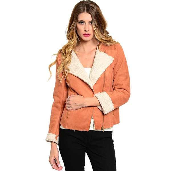 Shop The Trends Women Moto Style Jacket (As Is Item)